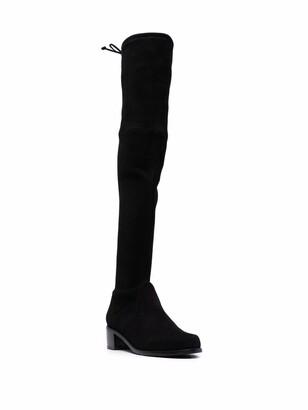 Stuart Weitzman Midland thigh-high suede boots