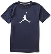 Jordan Big Boys 8-20 Dri-FIT Branded Short-Sleeve Graphic Tee