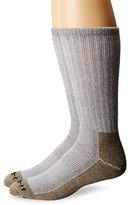 Carhartt Men's 2 Pack Full Cushion Steel-Toe Synthetic Work Boot Socks