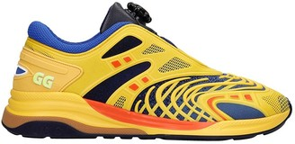 Gucci Ultrapace R Sneakers In Yellow Leather