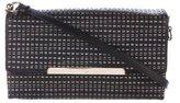 Christian Louboutin Check Leather Crossbody Bag