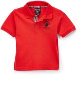 Beverly Hills Polo Club Red Polo & Plaid Shorts - Boys