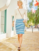 J.Mclaughlin Nicola Skirt in Barrier Cay