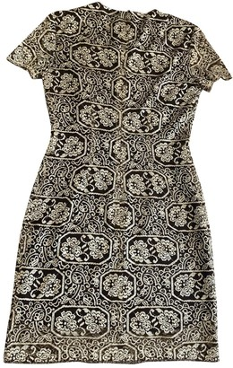 Elie Tahari Metallic Lace Dress for Women