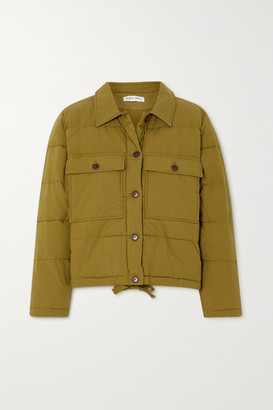 Alex Mill Quilted Padded Cotton Jacket - Green