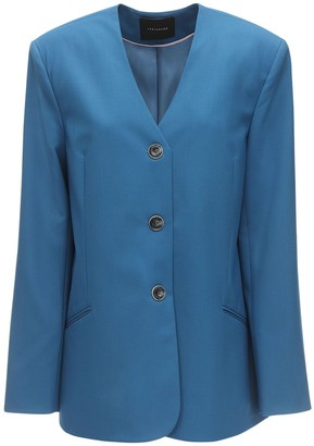 Cool Wool Single Breasted Blazer