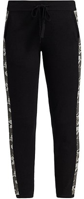 Monrow Camo Stripe Sweatpants