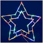 "Vickerman 35 LED Light Star Window Décor - Multicolored (15x15"")"
