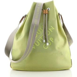 Louis Vuitton Geant Drawstring Shoulder Bag Geant Canvas