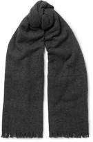 Rick Owens - Fringed Wool-blend Scarf