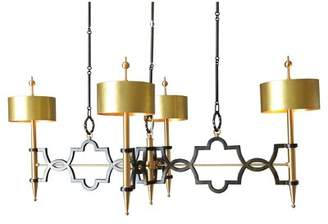 Global Views 8 - Light Shaded Classic / Traditional Chandelier