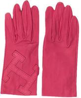 Hermes Lambskin H Gloves
