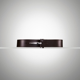Ralph Lauren Leather Metal-Hook Belt