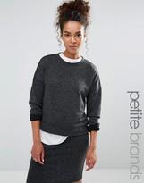 Vero Moda Petite Crop Sweatshirt