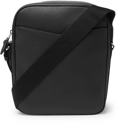 Dunhill Hampstead Full-Grain Leather Messenger Bag