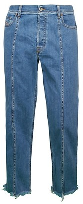 Diesel Dagh Raw-Hem Jeans