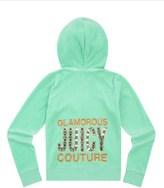 Juicy Couture Girls Logo Velour Juicy Gems Original Jacket
