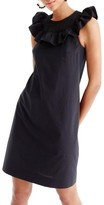 J.Crew Women's Ruffle Neck Dress