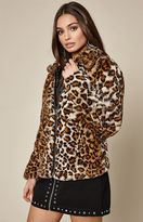 KENDALL + KYLIE Kendall & Kylie Short Fur Jacket