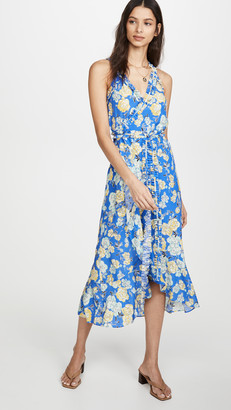 Jason Wu Floral Sleeveless Wrap Dress