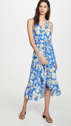 Jason Wu Floral Sleeveless Wrap Dress