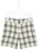 Douuod Kids - checked shorts - kids - Cotton - 4 yrs