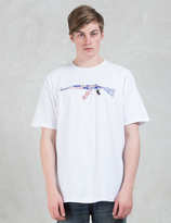 Black Scale Banded Automatic S/S T-shirt