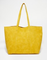 Warehouse Embossed Croc Shopper Bag
