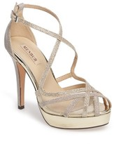 Menbur Women's Rosa Platform Evening Sandal