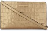 MICHAEL Michael Kors Jet Set Travel embossed leather cross-body bag