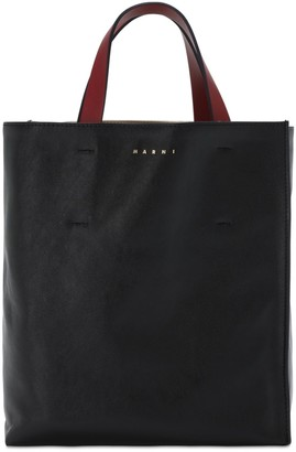 Marni Md Museo Soft Smooth Leather Tote