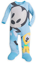 Disney Mickey Mouse and Pluto Stretchie Sleeper for Baby