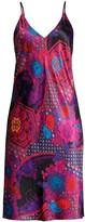 Natori Purple Empress Print Slip