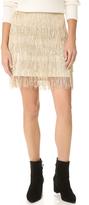 Anine Bing Fringe Skirt