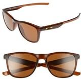 Oakley Women's Trillbe X 52Mm Sunglasses - Clear Blue/ Jade Iridium