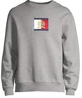 Tommy Hilfiger Edition Men's Flag Logo Crewneck Sweatshirt