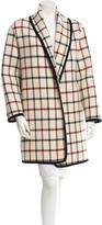 Michael Kors Plaid Wool Coat