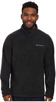 Columbia Steens Mountaintm Half Zip (Black) Men's Coat