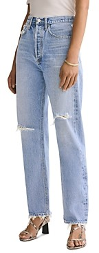 AGOLDE 90's Straight Jeans in Captured