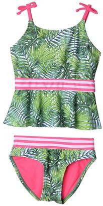Appaman Kids Marina Tankini Set (Toddler/Little Kids/Big Kids) (Palms) Girl's Swimwear Sets