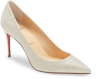 Christian Louboutin Kate Glitter Pointed Toe Pump
