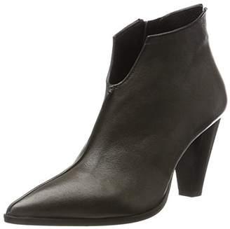 Oxitaly Women's Sandy 321 Chelsea Boots, Grey (Grey Grey)