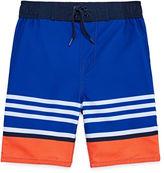 Arizona Boys Stripe Swim Trunks-Preschool