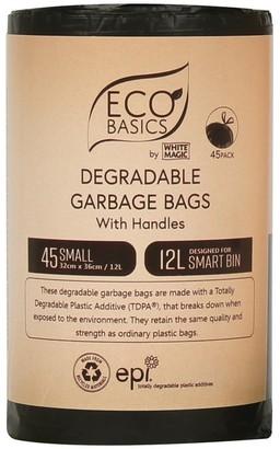 White Magic Eco Basics Garbage Bags Small