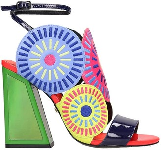 Kat Maconie Frida Sandals In Multicolor Tech/synthetic
