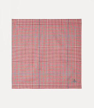 Vivienne Westwood Checked Handkerchief Red