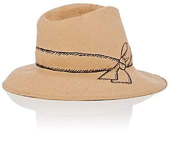 4fec98704 Women's Straw Fedora - Tan