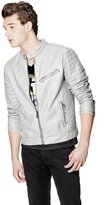 GUESS Hayden Faux-Leather Moto Jacket