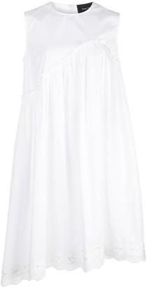 Simone Rocha Asymmetrical Sleeveless Dress