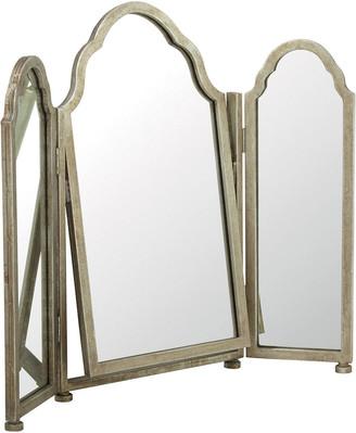 OKA Trois Mirror - Antique Silver